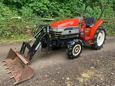 £6995 • Buy Yanmar AF24 4WD Compact Tractor With Power Loader Bucket  *** WATCH VIDEO ***