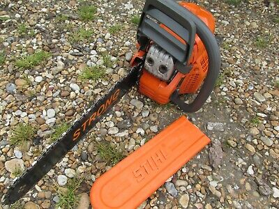 View Details Husqvarna 435 Chainsaw With New Bar And Chain + Stihl Scabard  • 52.00£