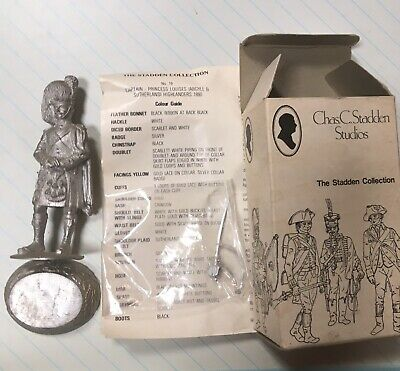 £27 • Buy Chas C Stadden Figures Hp19 Officer Argyll And Sutherland 1890