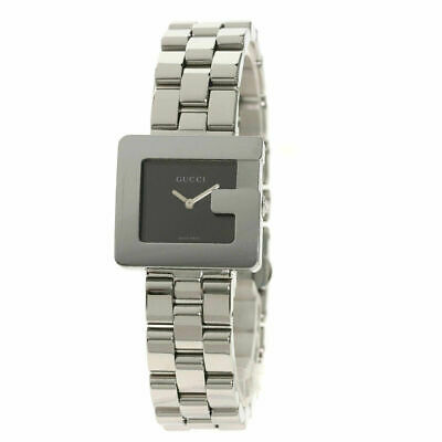 £253.99 • Buy GUCCI Square Face Watches 3600L Stainless Steel/Stainless Steel Ladies Watch