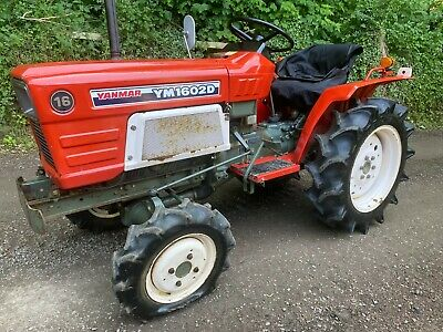 £4995 • Buy YANMAR F175 4WD Compact Tractor & New Flail Mower ***NICE TRACTOR***