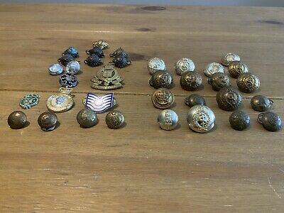£3.50 • Buy British,US And Canadian Army Metal Badges & Metal Buttons
