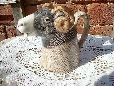 £19.95 • Buy Lovely QUAIL CERAMIC SWALEDALE SHEEP, Large JUG ,NEW 14cm Height Approx