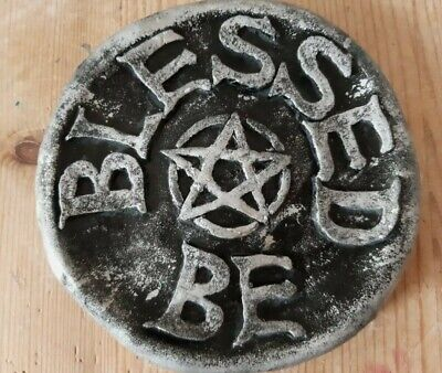 £7.50 • Buy Blessed Be Wall Plaque Pagan Wicca