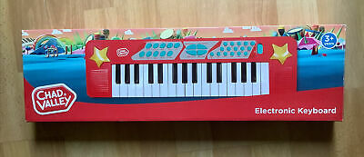 £6 • Buy Chad Valley Slimline Portable Electronic Music Keyboard