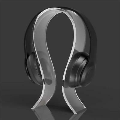 AU9.19 • Buy Acrylic Headphone Stand Hanger For Variety Sizes Of Headphones Simple Design