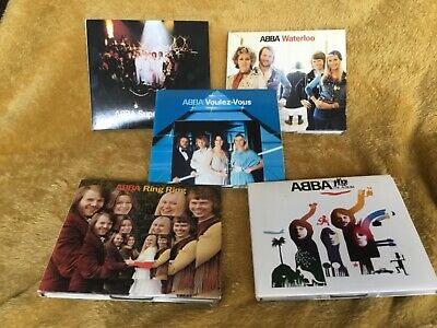 £9.99 • Buy Collection Of Five ABBA  CDs Polar Music Ring Voulez Vous Waterloo Trouper 2001