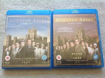 £5.99 • Buy Downtown Abbey Classic TV Series 1 And 2 Blu Ray Sets - Sent POST FREE Within UK