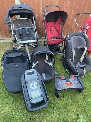 £65 • Buy QUINNY BUZZ Stroller Pushchair Car Seat Complete Travel  System Used
