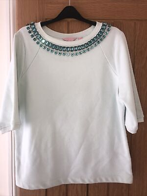 £8 • Buy Ladies Ted Baker Mint Sweater Top Size 4