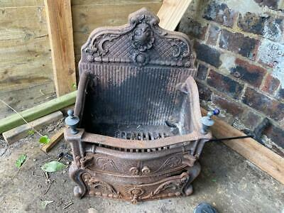 £9.99 • Buy Antique Fire Grate Basket Cast Iron Very Very Heavy Collection From TN38