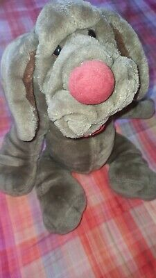 £14.99 • Buy Wrinkles The Dog Plush Hand Puppet Brown Vintage 1981