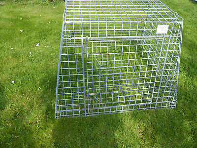 £45 • Buy  Sloping Car Pet Puppy Dog Large Travel Crate Cage For Estate Car