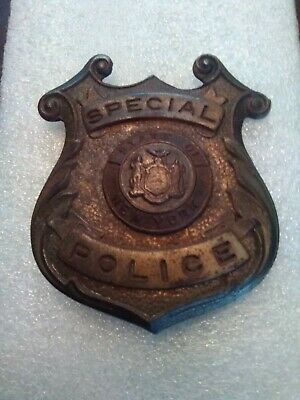 £14.15 • Buy Obsolete State Of New York Special Police Badge