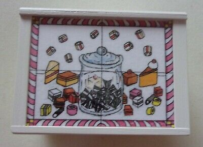 £15 • Buy 12th Scale Shop Sweet Counter Signed And Made By Delph Miniatures, Boxed