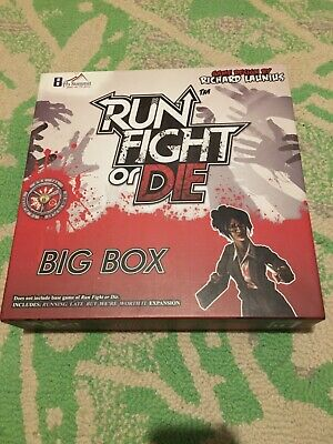 £20 • Buy Run, Fight Or Die Board Game Big Box Plus Expansions Solo Zombie