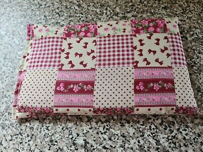 £2.60 • Buy Microwave Wheat Bag/chill Pack - Patchwork Pinks - 6  X 10  Approx