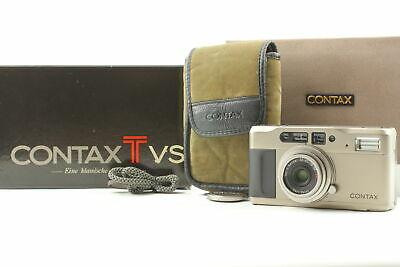 $ CDN448.21 • Buy CONTAX TVS Data Back Point & Shoot Film Camera JAPAN [EXC+5 / Appearance MINT]