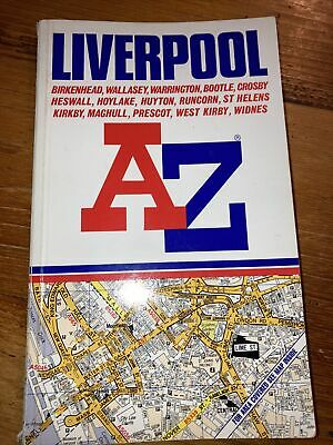 £1 • Buy A To Z Street Atlas Of Liverpool By Geographers' A-Z Map Co. 1990 Edition
