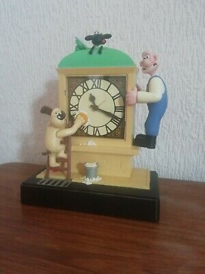 £50 • Buy Rare 1998 Wallace And Gromit Wesco Alarm Clock