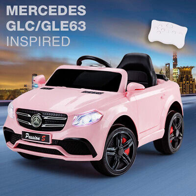 £119.95 • Buy Children's PINK 12V Electric Ride On Mercedes GLC/ GLE63 Inspired Car Jeep 2.4G