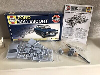 £20 • Buy Airfix / Haynes  FORD MK1 ESCORT  Plastic Model Kit. Scale 1:32. Contents Sealed