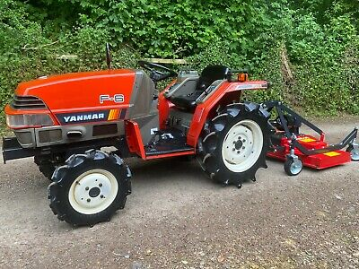 £4595 • Buy Yanmar F6 4WD Compact Tractor & New 4ft Finishing Mower **WATCH VIDEO**