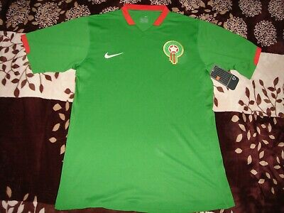 £50 • Buy Nike Morocco Home 2006 Shirt Jersey Football Player Issue M