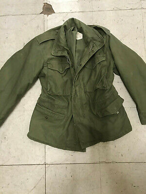 $35 • Buy Military Field Coat Unlined M-65 Sz Small Short Believed Afghanistan
