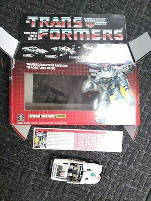 £20.59 • Buy Transformers G1 Prowl With Box Vtg Specs Card