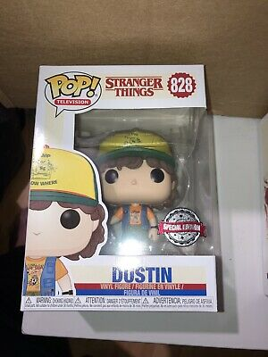 AU33.19 • Buy Funko Pop Stranger Things Dustin #828 Exclusive With Hammer