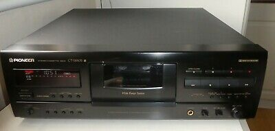 £225 • Buy Pioneer CT-S830S  Dolby S, 3 Head Stereo Cassette Deck - Immaculate Condition