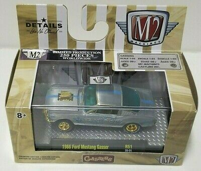 $ CDN155.62 • Buy M2 Gassers 1966 Ford Mustang Gasser Raw Chase 1 Of 250 VHTF