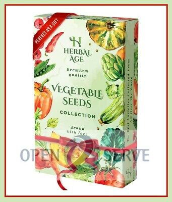 £4.79 • Buy 12 Herb Seeds Collection-For Planting Indoor And Outdoor Grow Your Own-8700 Seed