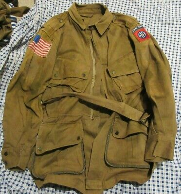 $249.99 • Buy REPRODUCTION US ARMY WW2 PARATROOPER REINFORCED M1942 JUMP JACKET SIZE 48 82nd