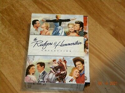 £12.75 • Buy Rodgers And Hammerstein Collection 12 DVD Box-Set- LIKE NEW