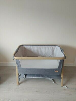 £60 • Buy CoZee Next To Me Crib Grey - USED Good Condition Baby Bedside Cot Bed
