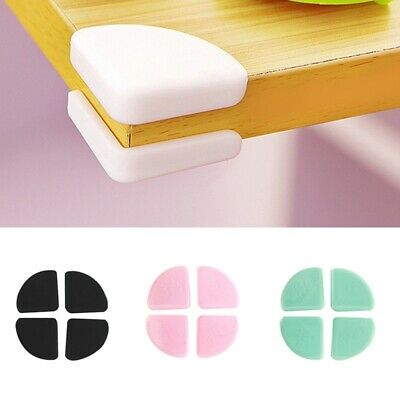 £3.25 • Buy 4x Silicone Table Corner Protector Baby Safety Furniture Desk Edge Cover Cushion
