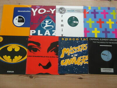 £19.99 • Buy A COLLECTION OF DANCE,TRANCE,TEKNO,OLD SKOOL 12  SINGLES X 8-2000's VG-EX-14