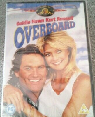 £4.97 • Buy Overboard*dvd*kurt Russell*goldie Hawn*comedy*classic Family Film*pg*new*