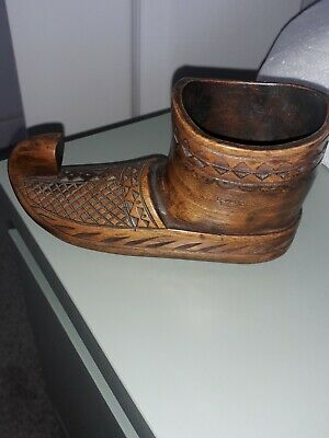 £16 • Buy Large Wooden Shoe Snuff Box