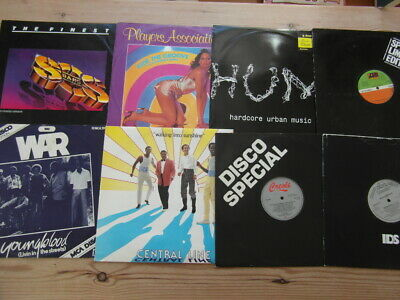 £19.99 • Buy A COLLECTION OF DANCE,TRANCE,TEKNO,OLD SKOOL 12  SINGLES X 8-80's-VG-EX-5