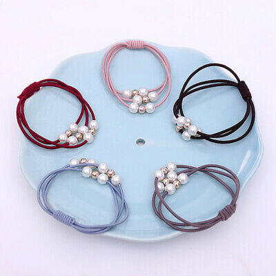 $ CDN7.38 • Buy 9Pcs Durable Ponytail Holders Fashion Hair Accessories For Girls Women