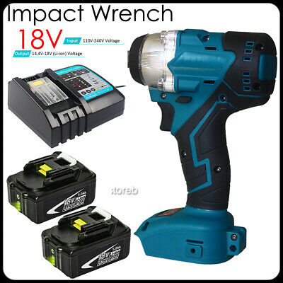 £23.90 • Buy Replacement Cordless Impact Wrench For Makita DTW285Z 18V Brushless 1/2  Battery
