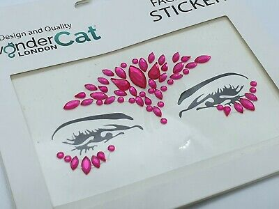 £2.89 • Buy Face Gems Adhesive Glitter Jewel Tattoo Sticker Festival Party Body Make Up AW80