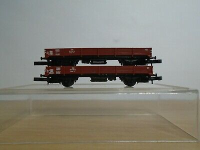 £9.90 • Buy Z Gauge Marklin 8610 Low Sided Open Wagons X 2 Mint Unused Condition. (6.0e)