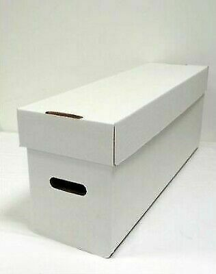 £19.80 • Buy 3 Long Comic Storage Boxes (comicare) - Hold 300 Comics Each (supply123-3)