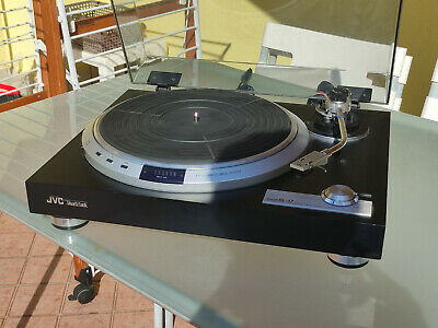 £386.42 • Buy JVC QL-A7 Turntable In Very Good Condition With AKG PM25D (Broken Stylus)