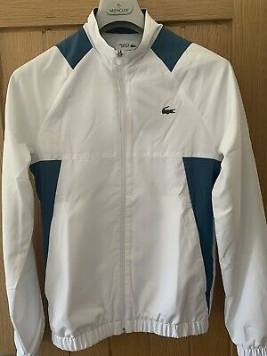 £0.99 • Buy Lacoste Mens Extra Small White And Blue Tracksuit