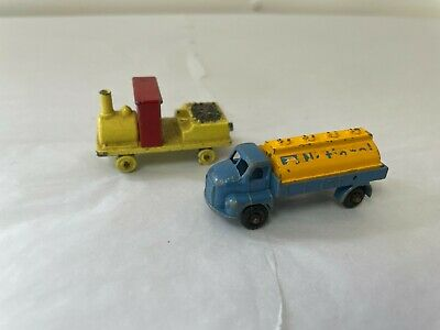 £9.95 • Buy Vintage Diecast BUDGIE Model Vehicles X 2. Tanker And Noddy Train.